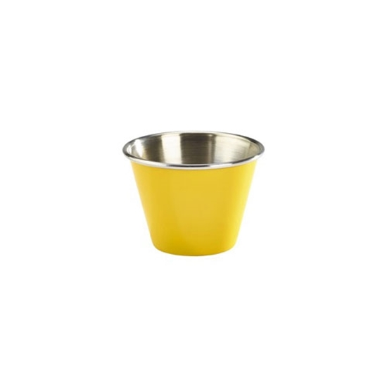 Picture of Stainless Steel Yellow Ramekin 7.1cl (2.5oz)