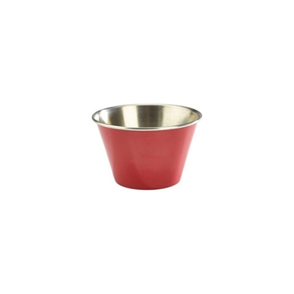 Picture of Stainless Steel Red Ramekin 17cl (6oz)