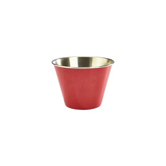 Picture of Stainless Steel Red Ramekin 34cl (12oz)