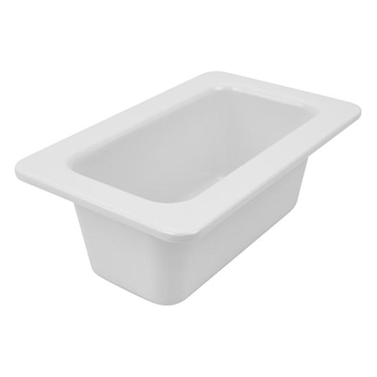 Picture of Dalebrook 1/4 White Dish 1.5L