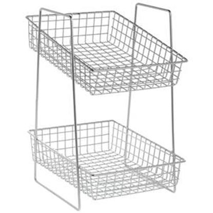 Picture of 2 Tier Metal Wire Stand