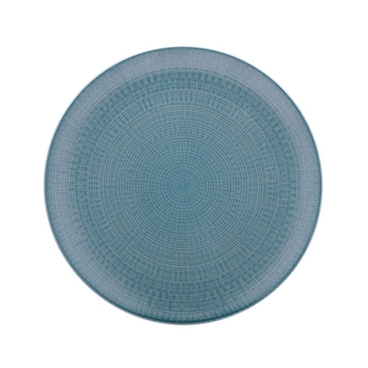 "Picture of Blue Modulo Coupe Plate 8"" (21cm)"