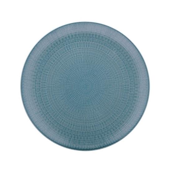Blue Modulo Coupe Plate 16cm