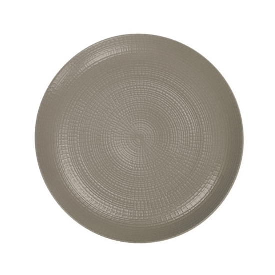 """Picture of Modulo Grey Coupe Plate 11"""" (28cm)"""