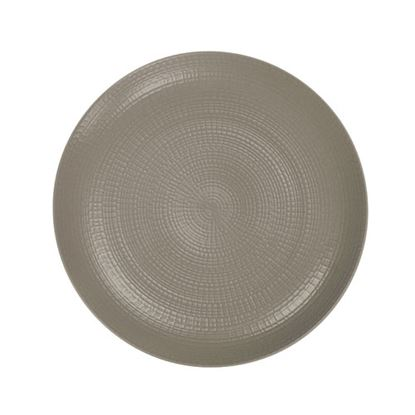 "Picture of Modulo Grey Coupe Plate 8"" (21cm)"