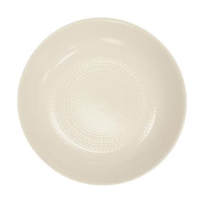 """Picture of White Modulo Coupe Plate 11"""" (28cm)"""