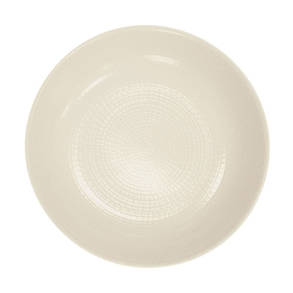 "Picture of White Modulo Coupe Plate 6.2"" (16cm)"