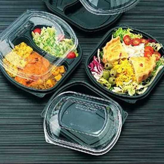 Picture of Black Two Compartment Container 36oz
