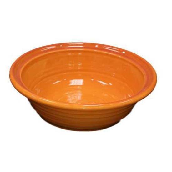 "Picture of Reactive Orange Salad Bowl 10.6x3.9"" (27x10cm)"