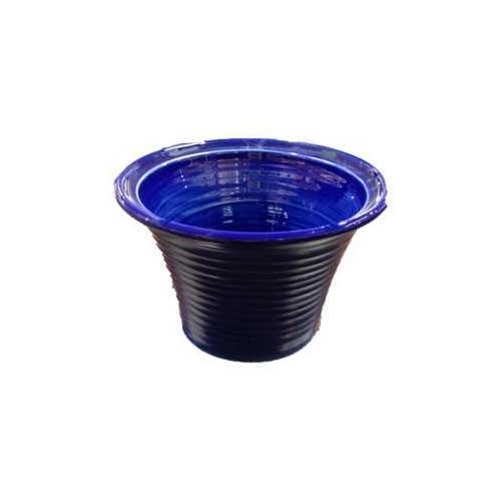 """Picture of Reactive Deep Blue Salad Bowl 10x6.7"""" (25.5x17cm)"""