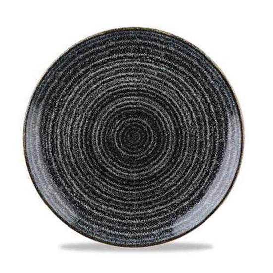 Studio Prints Black Coupe Plate