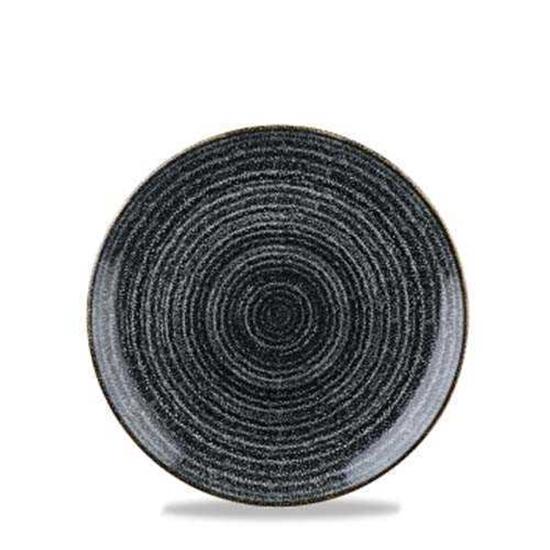 Studio Prints Black Coupe Plate 16cm