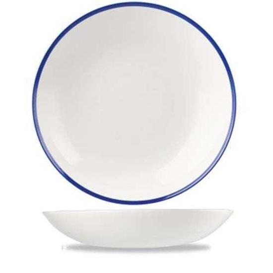 Churchill Retro Blue Coupe Bowl