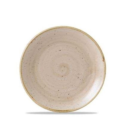 Stonecast Nutmeg Coupe Plate 16.5cm