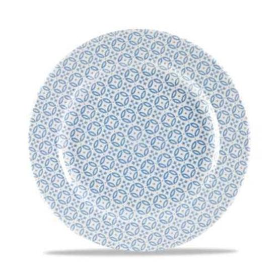 Blue Moresque Plate