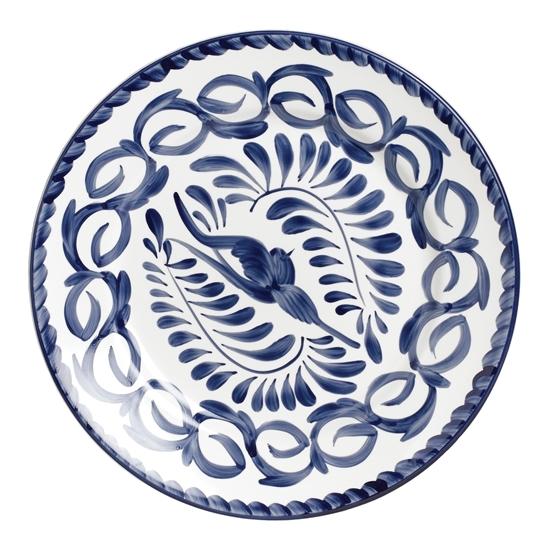 Puebla 23cm Rimmed Plate