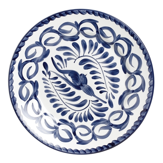 Puebla 26cm Rimmed Plate