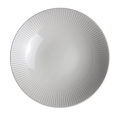 Picture of Steelite Willow Gourmet Coupe Plate 28cm