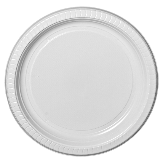 Round Takeaway Plate