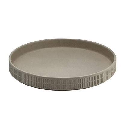 Raw Pebble Round Dish 23cm