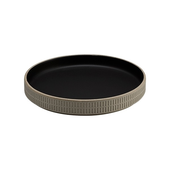 Raw Slate Round Dish 18.5cm