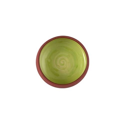 Picture of Toragh Green Small Coupe Dish (11cm)