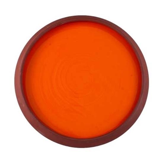 Large Orange Toragh Dish