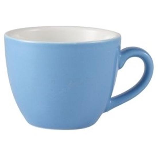 Blue Bowl Shaped Cup 9cl