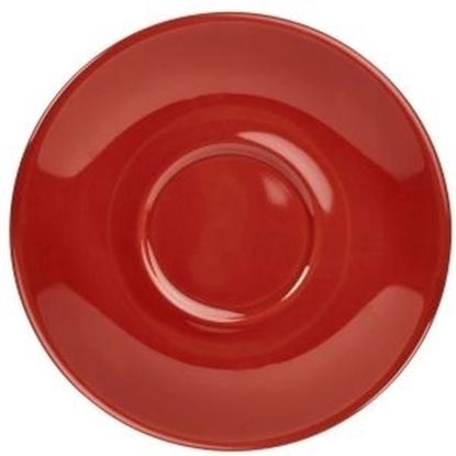 Red Saucer 16cm