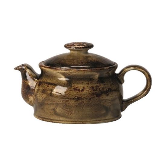 Steelite Craft Brown Club Teapot 15oz