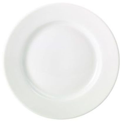 Picture of Royal Genware Classic Winged Plate 21cm White
