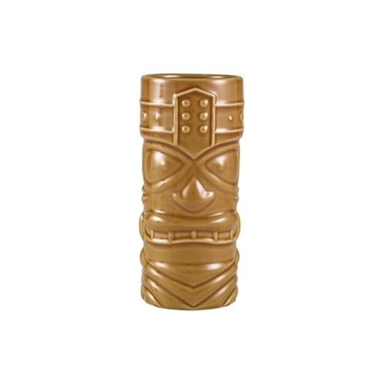 Brown Tiki Mug