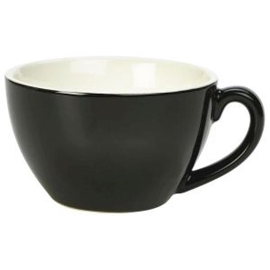 Royal Genware Bowl Shaped Cup 34cl Black