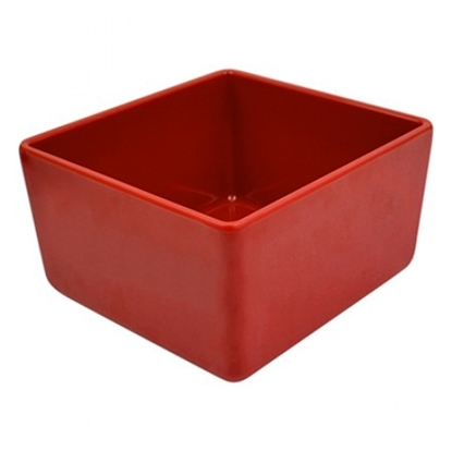 Picture of Red Melamine Chunky Crock 2L