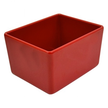 Picture of Red Melamine Chunky Crock 1.5L