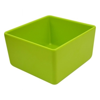 Picture of Lime Green Melamine Chunky Crock 2L