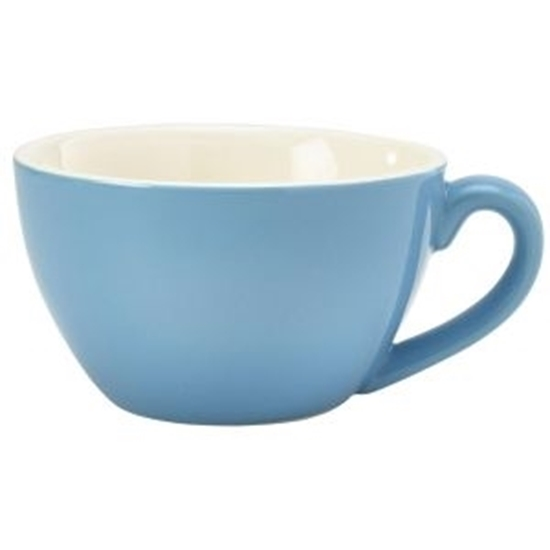 Royal Genware Bowl Shaped Cup 34cl Blue