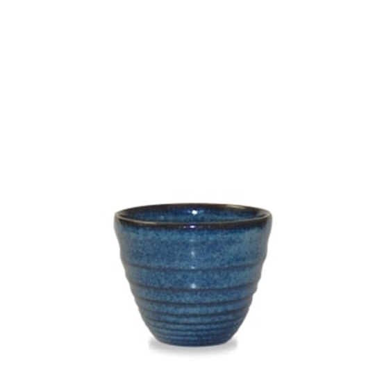 Bit On The Side Ripple Sapphire Chip Mug