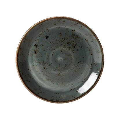"Picture of Steelite Craft Blue Coupe Plate 11"" (28cm)"