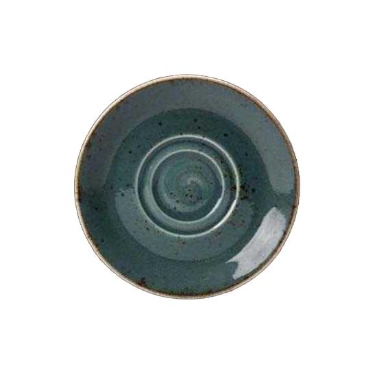 """Craft Blue Saucer 6.5"""""""