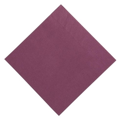 """Picture of Duni Plum Napkins 2 Ply 15.7"""" (40cm)"""