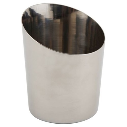 """Picture of Stainless Steel Angled Cone 4.6x3.7"""" (11.6x9.5cm)"""