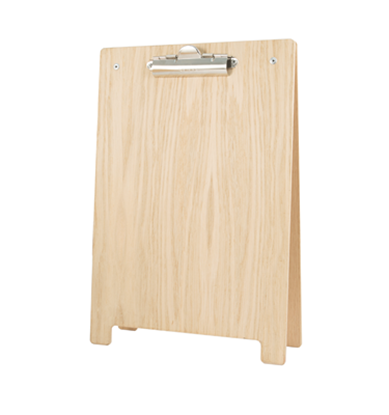 Picture of A4 A-Frame Clipboard Natural Wood