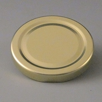 58mm Jam Jar Lid Gold