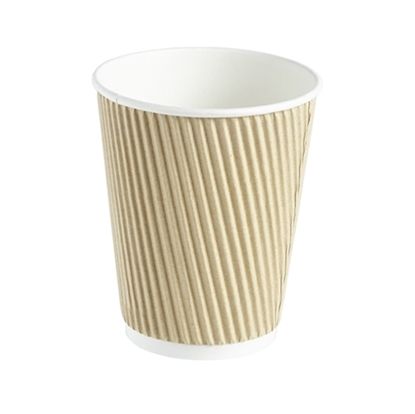 Picture of 12oz Double Wall Kraft Cup