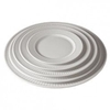 "Picture of Pillivuyt Plisse White Plate 10.2"" (26cm)"