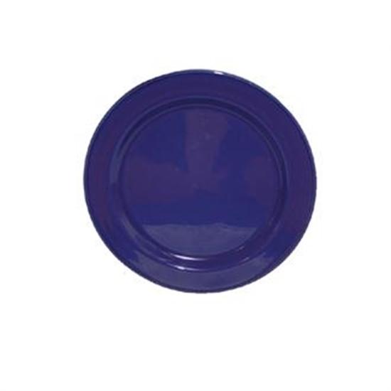 "Carnival Sapphire Plate 8"""