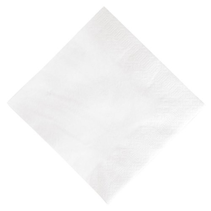 "Picture of White Napkin 2 Ply 13"" (33cm)"