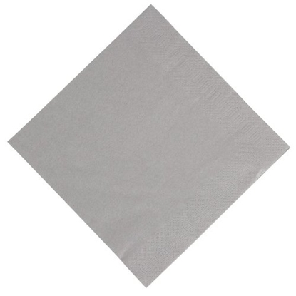 2 Ply Granite Grey Napkin