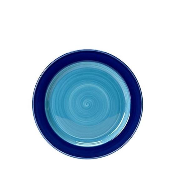Freedom Blue Slimline Plate 23cm